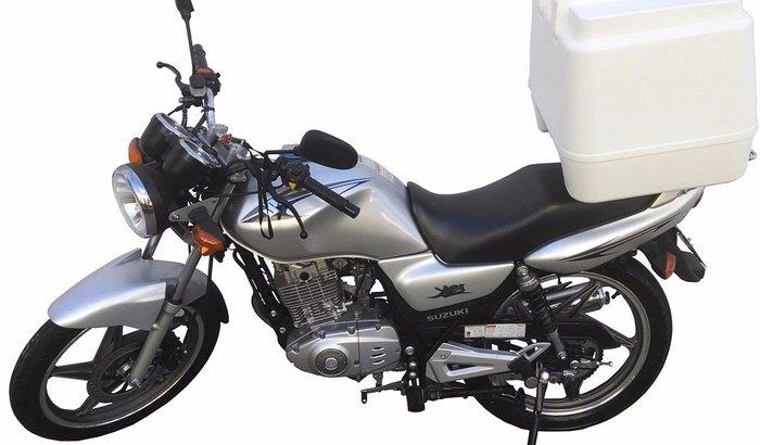 Uma moto para minhas entregas/vendas