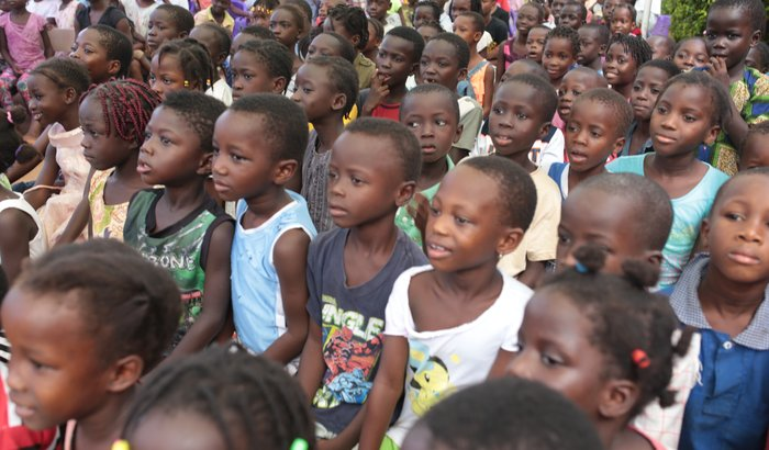 Construção da Base da Escola em Cutum Madina - Guiné Bissau