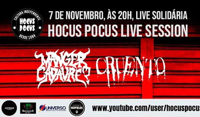 Hocus Pocus Live Session com Manger Cadavre? e Cruento