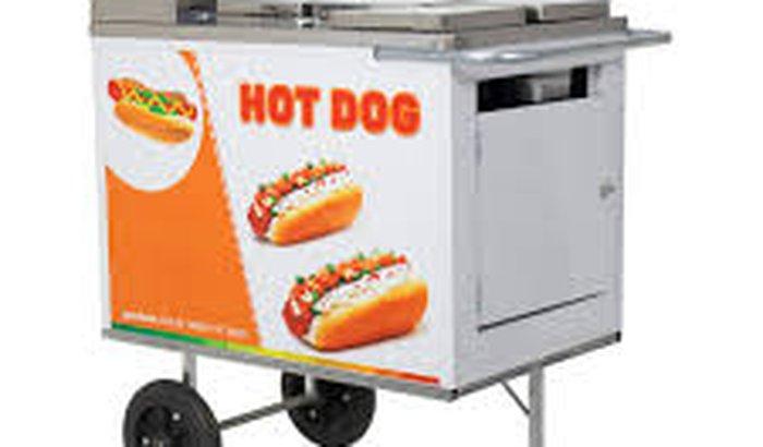 Trailer de hot dog