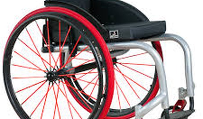 Cadeira de rodas de Tarcisio Barros