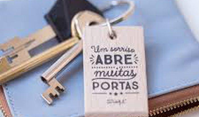 Sorrisos abrem portas
