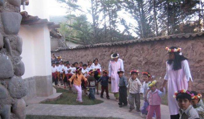 Trabalho voluntário na América do Sul