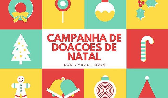 CAMPANHA DE DOAÇÕES DE NATAL - LIVROS