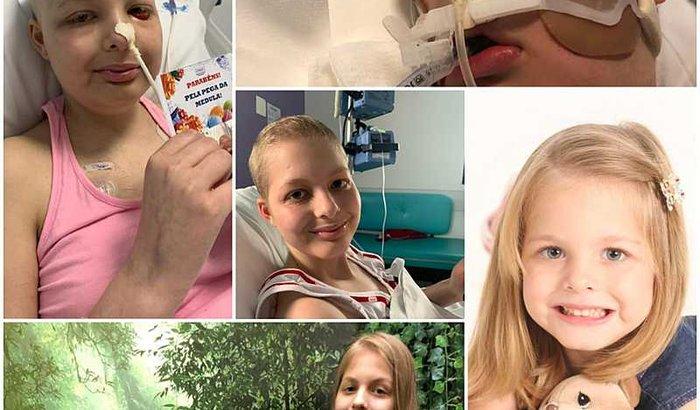 Ajude a kayla na luta contra a Leucemia LLA - Linfóide Aguda