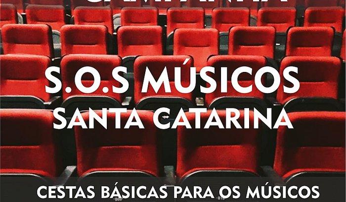 S.O.S Músicos - Santa Catarina