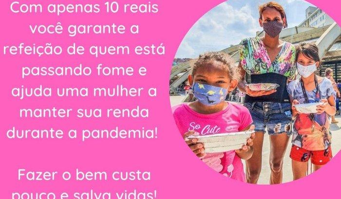 Ajude nossas Marias a vencer a fome em Paraisópolis