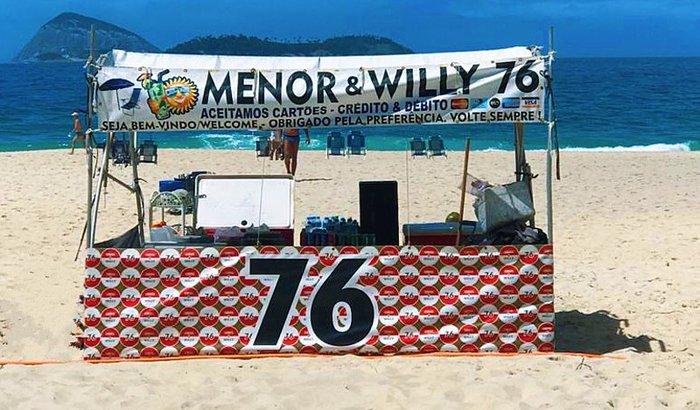 Barraca Menor e Willy 76
