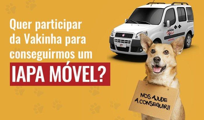 Ajude o IAPA a RESGATAR MAIS ANIMAIS!