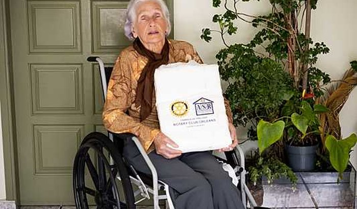 Ajude a fábrica de fraldas do Rotary Club de Orleans.