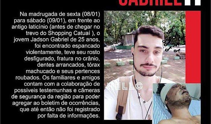 Mobilização para a recuperação de Jadson Gabriel