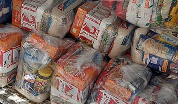 30 cestas básicas para famílias de catadores de recicláveis
