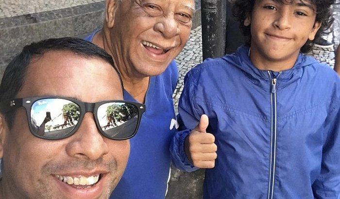 Ajuda pro Tio Dudu (Pai do Índio e avô do Diego)