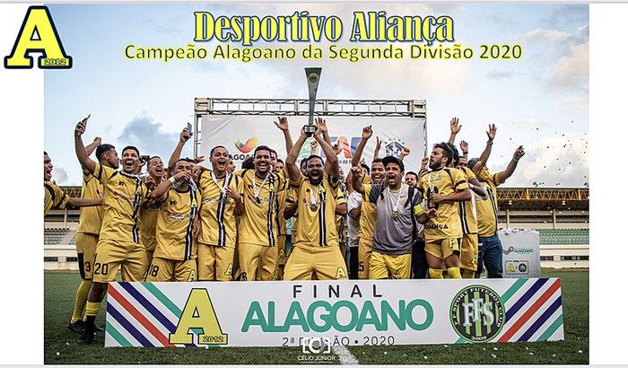 Apoie o Desportivo Aliança no Campeonato Alagoano 2021