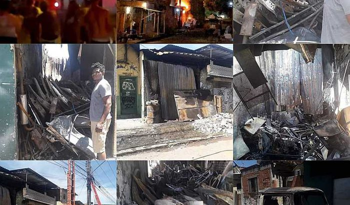 Reconstrução da oficina do Maduma