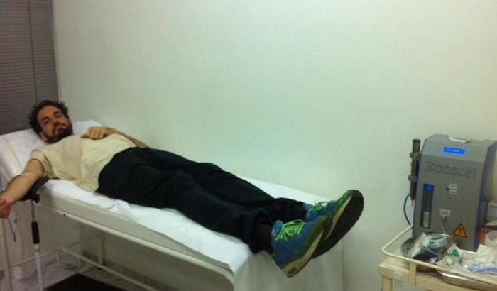 Ajude o Tiago Michaelsen a continuar seu tratamento de saúde.