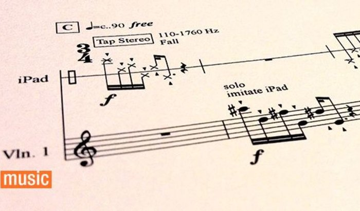 Compra das Partituras do Concerto par iPad e Orquestra