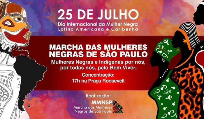 25 de Julho de 2017 - Marcha das Mulheres Negras de São Paulo