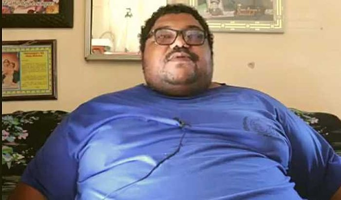 Bariátrica de Antonio Luíz (que tem obesidade mórbida)