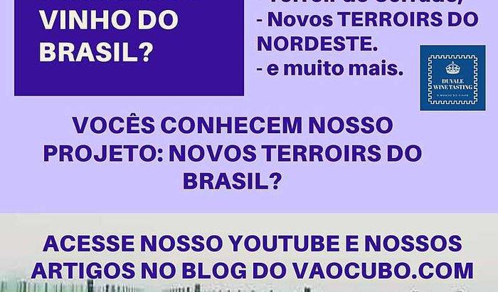 PROJETO NOVOS TERROIRS DO BRASIL