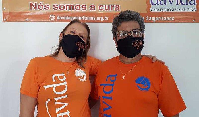 Ajude Maria, voluntária do Davida Samaritanos!