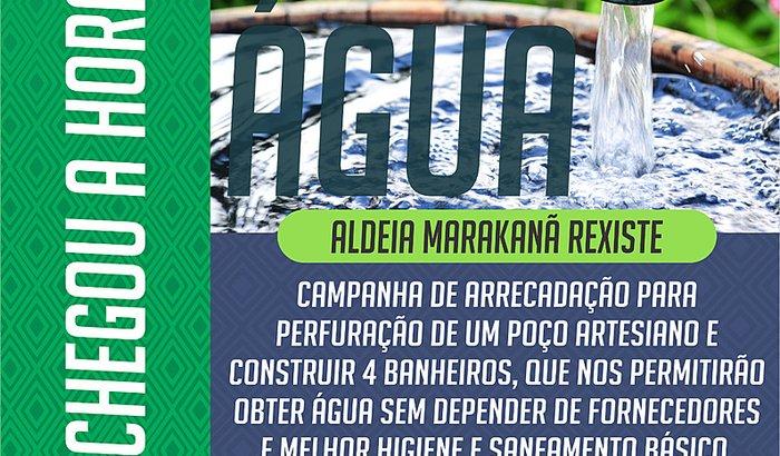 Autonomia da Água - Aldeia Maracanã Rexiste