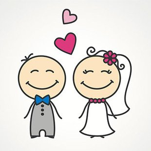 Cover casamento feliz frame