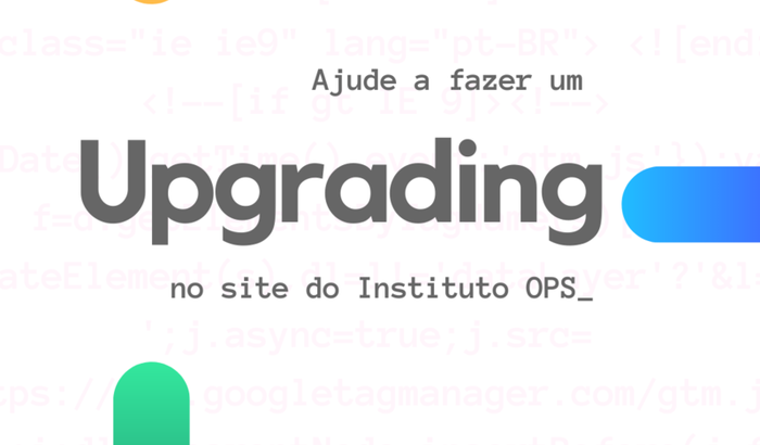 Upgrade no site do Instituto OPS
