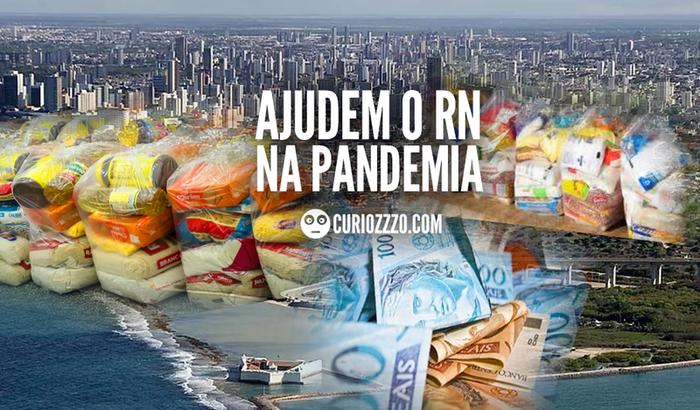 Ajuda às famílias potiguares em dificuldade pela pandemia