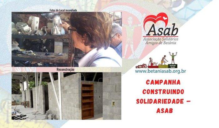 CAMPANHA CONSTRUINDO SOLIDARIEDADE – ASAB