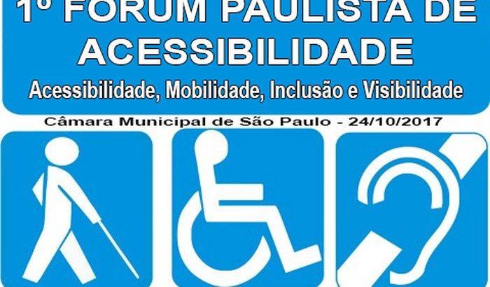 1º Fórum Paulista de Acessibilidade