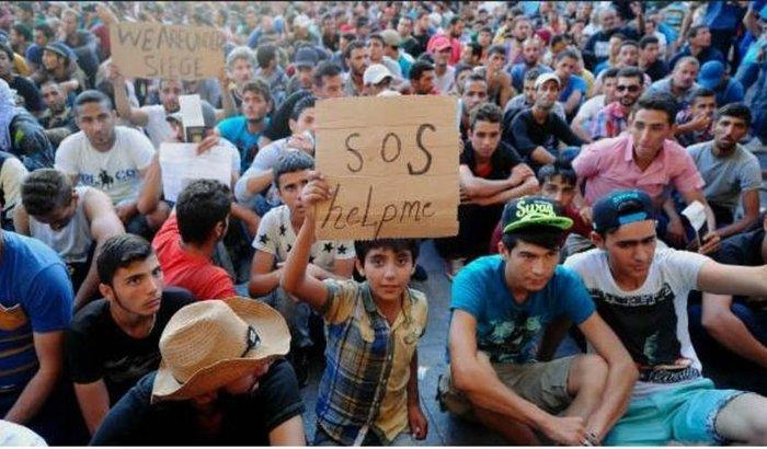 Ajuda para os Refugiados na Europa