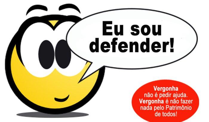 Eu sou Defender!