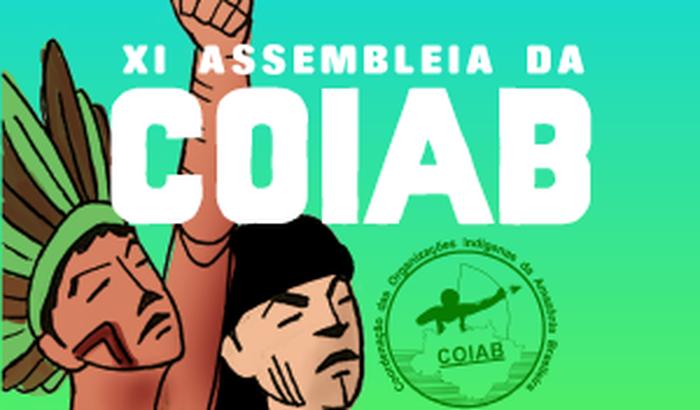 Seja um apoiador da XI Assembleia da COIAB