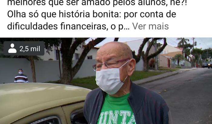Reforma Fusquinha Professor Marcelo Siqueira CWB