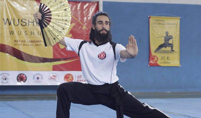 Guarino na China! Gabriel no Mundial de Kung-fu!