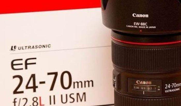 Ajuda para comprar lente usada Canon 24-70mm 2.8
