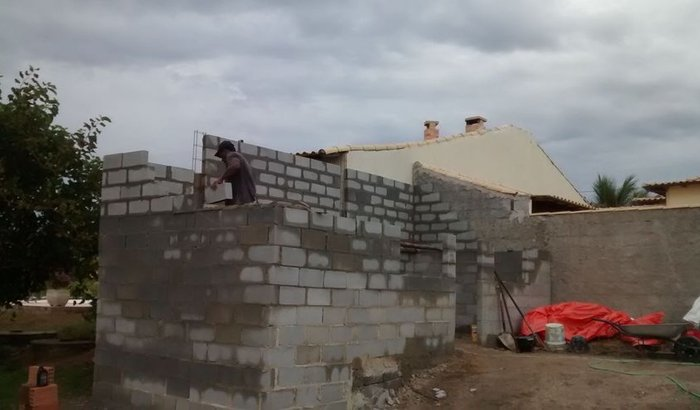 acabar de construir minha casa
