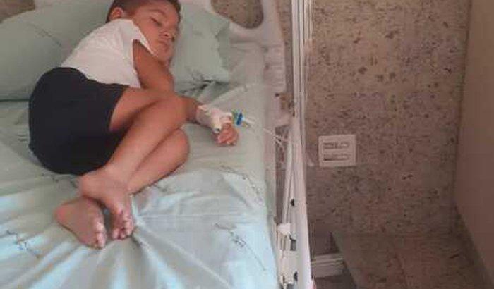 ajude-nos no tratamento do Bernardo com leucemia