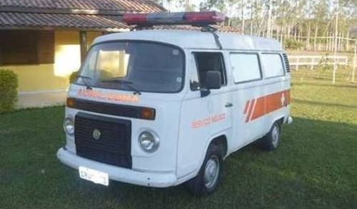 Ambulância para comunidade