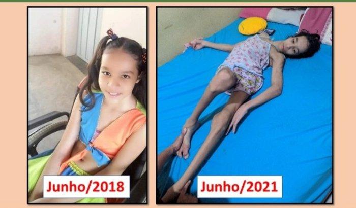 Campanha de ajuda para cirurgia da Maysa
