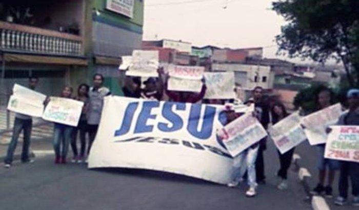 Evangelismo de rua e ação social