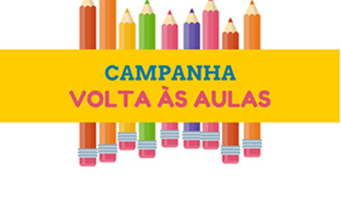 CAMPANHA VOLTA ÀS AULAS