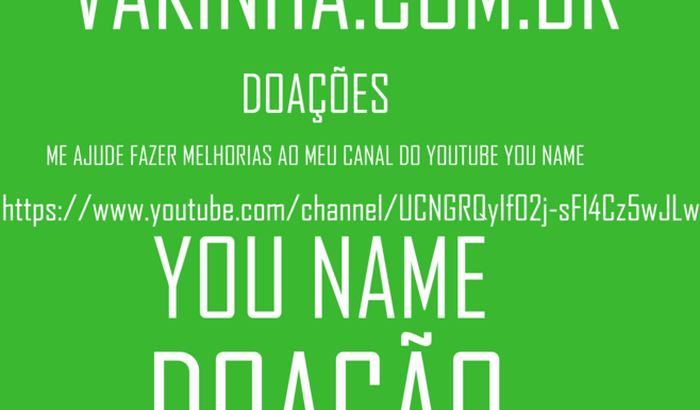 AJUDE PABLO A OBTER DINHEIRO PARA FAZER MELHORIAS NO CANAL DELE | YOU NAME |