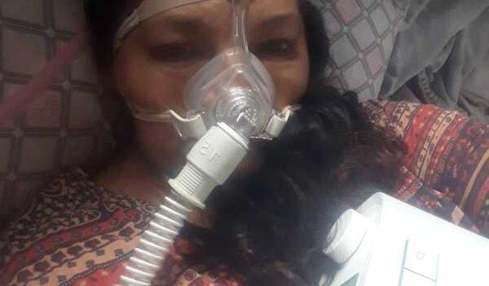 Compra de um aparelho CPAP - Para o tratamento de Dulce Paz