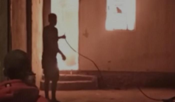 Minha casa pegou fogo perdi tudo