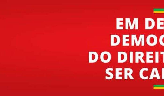 EM DEFESA DA DEMOCRACIA E DE LULA SER CANDIDATO FBP/RS