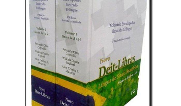 Compra de Dicionário para auxiliar surdos e deficientes auditivos em trabalho voluntário