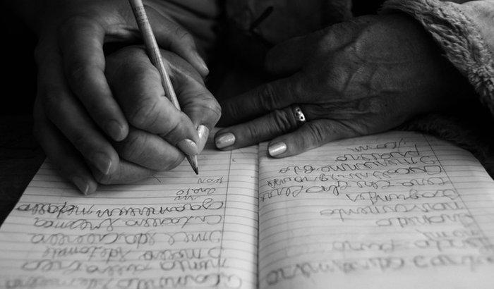 Projeto alfabetização de idosos