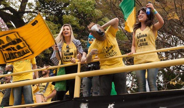 Banda Loka na ocupação de Brasília